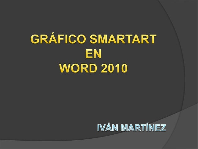 Un elemento gráfico SmartArt es una representación visual de la información que se puede crear de forma fácil y rápida eli...