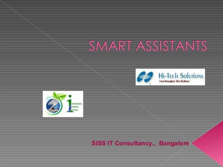 SISS IT Consultancy.,  Bangalore