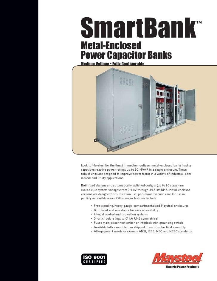 SmartBankMetal-Enclosed                                                                                     ™Power Capacit...