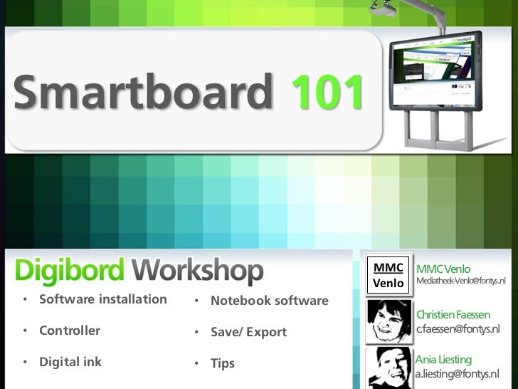 Smartboard 101                                                MMC MMC Venlo                                               ...