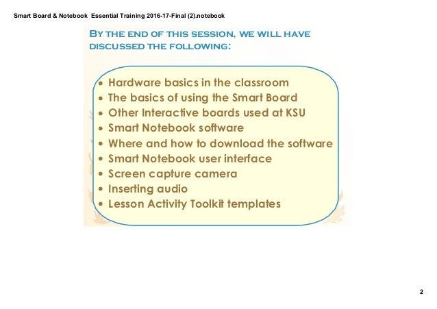 K Elkilany Smartboard & noteb...