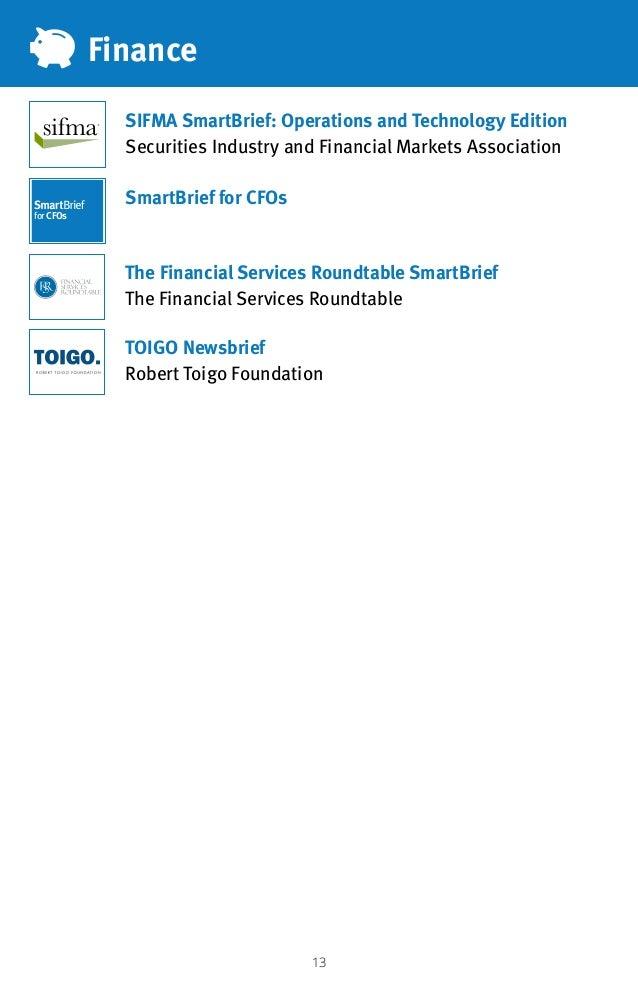 13 TOIGO Newsbrief Robert Toigo Foundation The Financial Services Roundtable SmartBrief The Financial Services Roundtable ...
