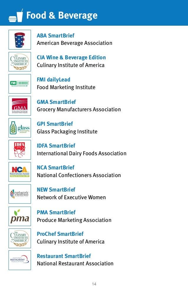14 Food  Beverage CIA Wine  Beverage Edition Culinary Institute of America ProChef SmartBrief Culinary Institute of Americ...