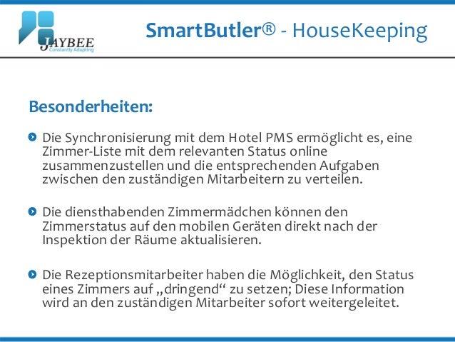 SmartButler® - Aufgabenmanagement Software für Hotels