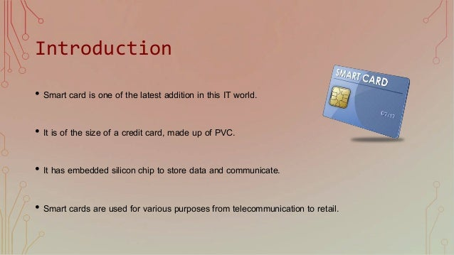 An introduction to smartcard