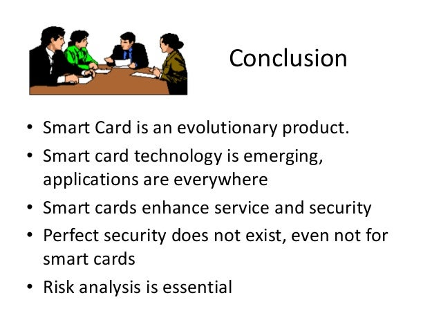 conclusion of smart card