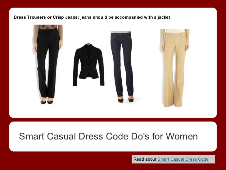 Smart casual dress code for women by etiquette tips
