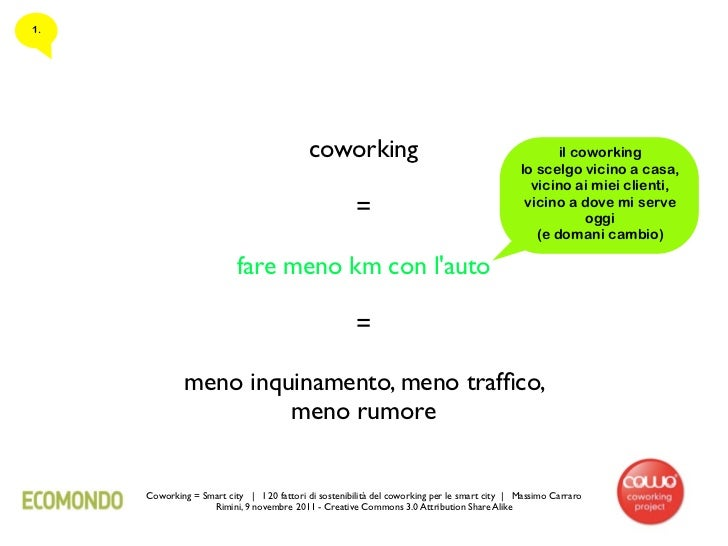 1.                                           coworking                                                 il coworking       ...