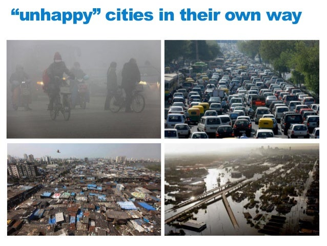 """""""unhappy"""" cities in their own way"""