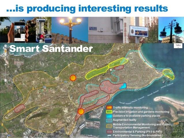 …is producing interesting results  Smart Santander