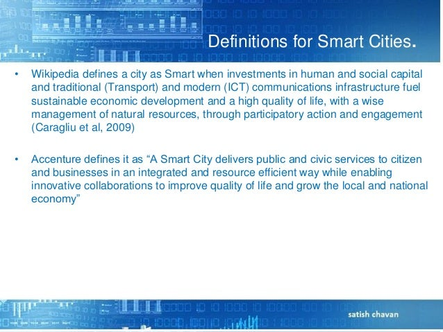 Smart city -Opportunity to Indian Telecom Operator