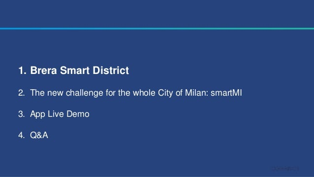 How is Milan, the capital of fashion and design, becoming smart? Slide 2