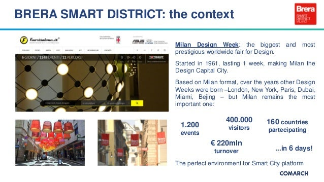 How is Milan, the capital of fashion and design, becoming smart? Slide 3