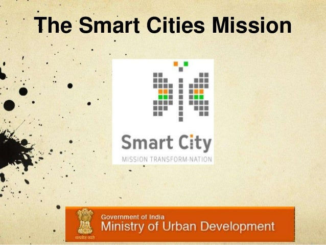 The Smart Cities Mission