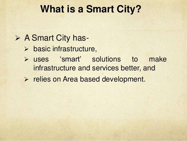 Smart city presentation