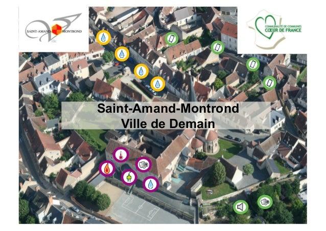 Saint-Amand-Montrond Ville de Demain