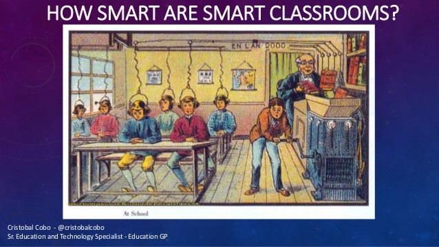 HOW SMART ARE SMART CLASSROOMS? A series of futuristic pictures by Jean-Marc Côté and other artists issued in France in 18...