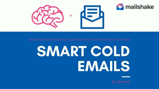 Smart Cold Emails by Sujan Patel