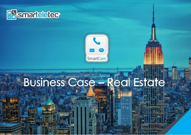 Real Estate Business Case: Mobile Applications have become omnipresent in many aspects of our lives in the past five years...