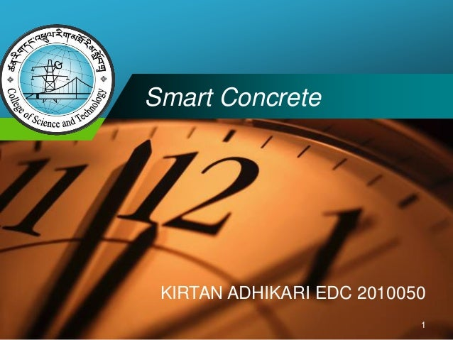 Company  LOGO  Smart Concrete  KIRTAN ADHIKARI EDC 2010050  1