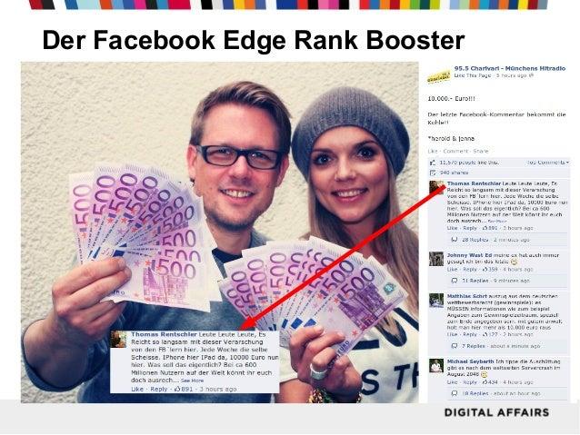 Der Facebook Edge Rank Booster