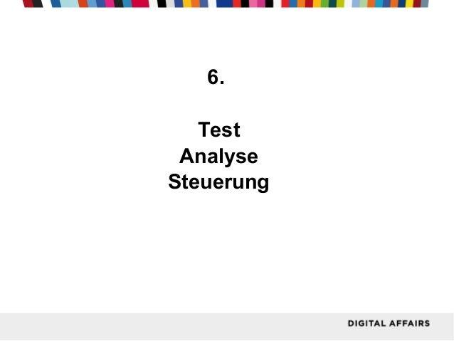 6. Test Analyse Steuerung