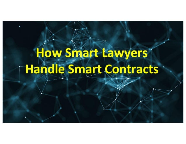 Smart Contracts In Detail 16