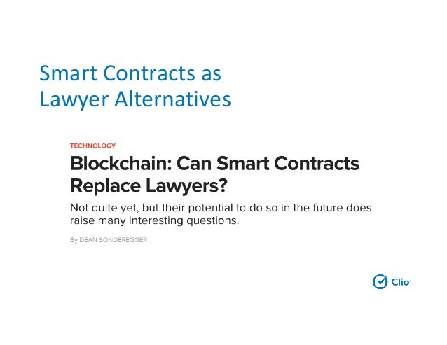Smart Contracts In Law 6