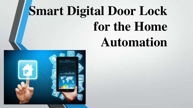 smart digital lock