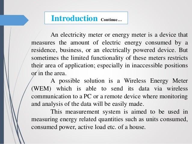 Smart energy meter (Updated)