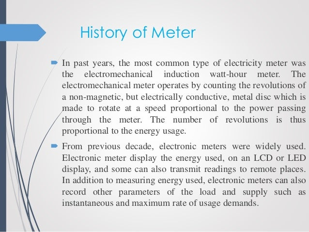 Iot enabled prepaid electricity meter (ppt) youtube.