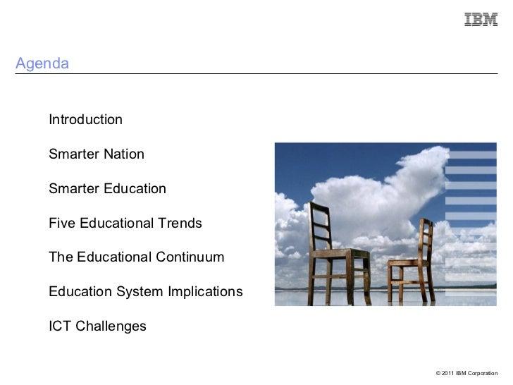 Smarter Eduction - Higher Education Summit 2011 - D Watt Slide 2