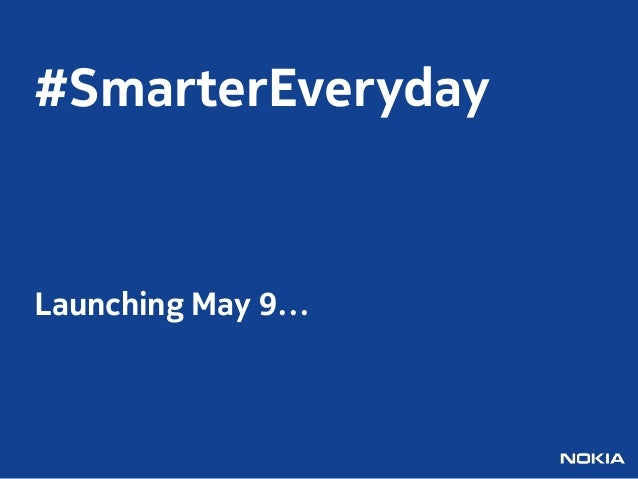 #SmarterEverydayLaunching May 9…