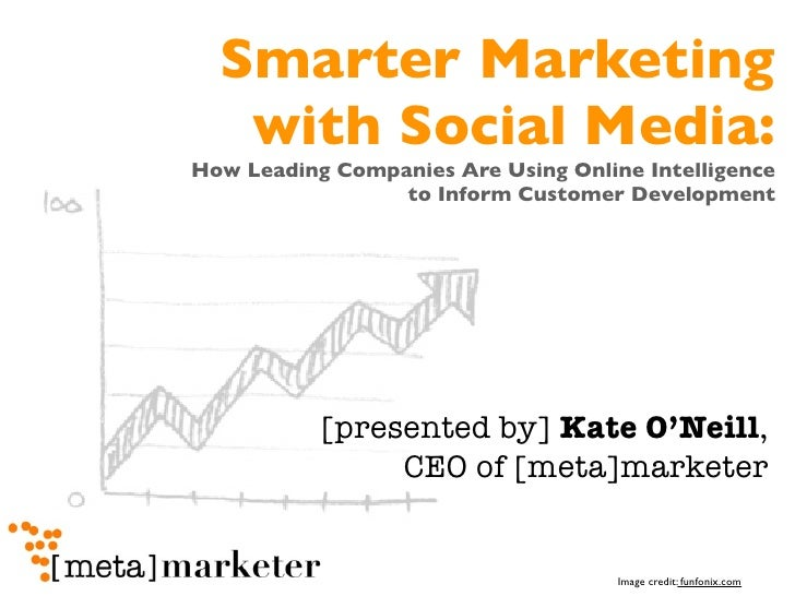 Smarter Marketing   with Social Media:How Leading Companies Are Using Online Intelligence                 to Inform Custom...