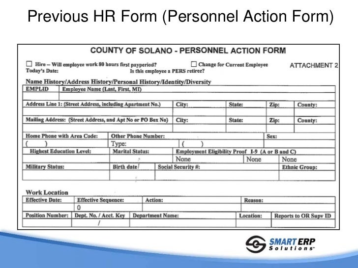 Solano County Case Study: Automated PeopleSoft HR Forms (PAF)