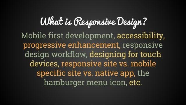 """""""Smarter Responsive Design"""" by Sam Otis Slide 2"""
