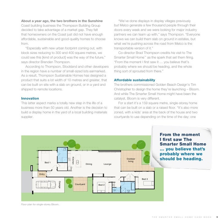 Smarter small home case study for Smaller smarter home plans