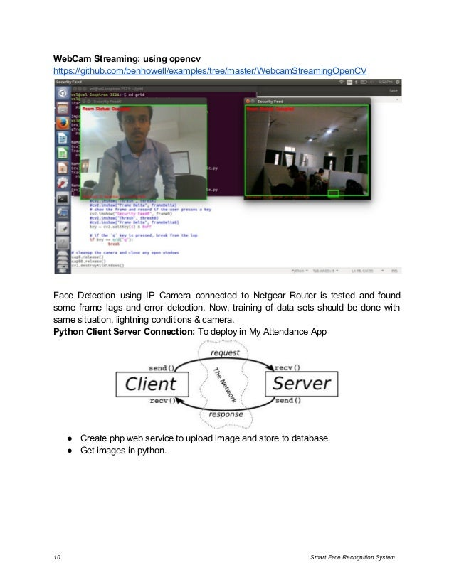 Smart Face Recognition System Analysis