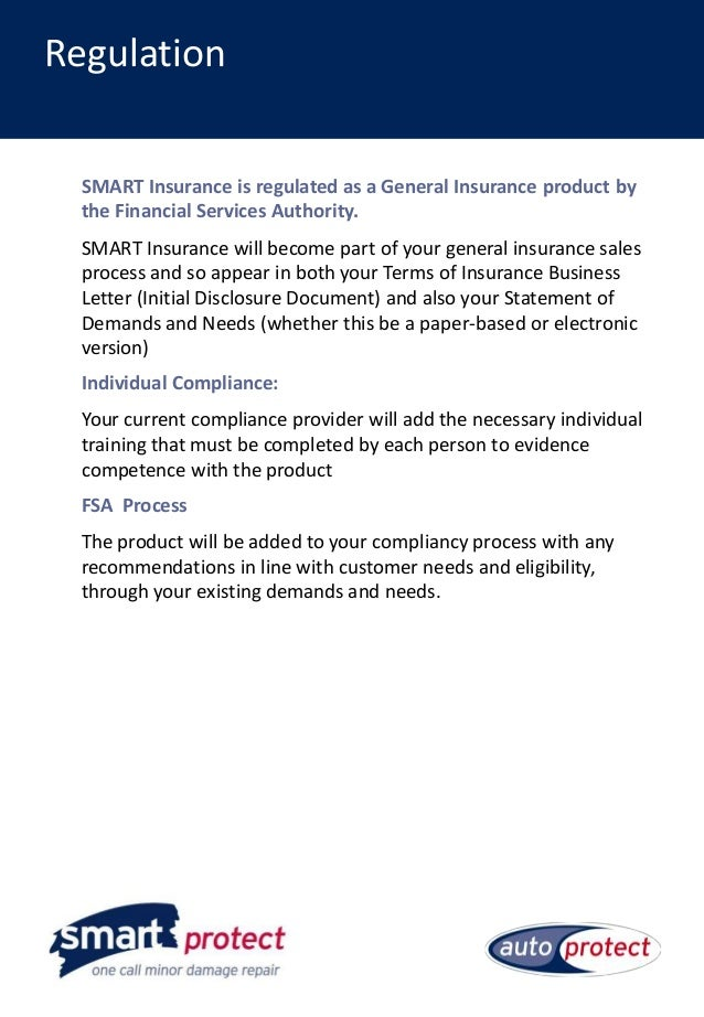 Smart Protection Insurance Launch Document
