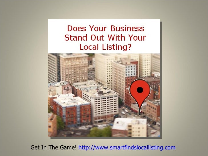 "The number of service providers that are attempting to help the local business and the small business to ""get listed"" are ..."
