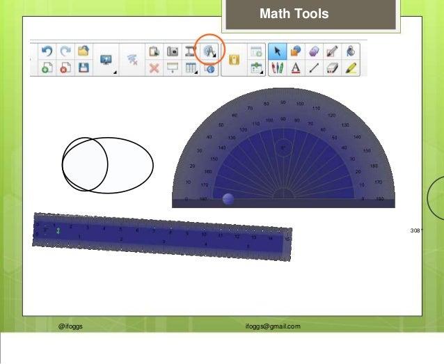 @ifoggs ifoggs@gmail.com Math Tools 308°