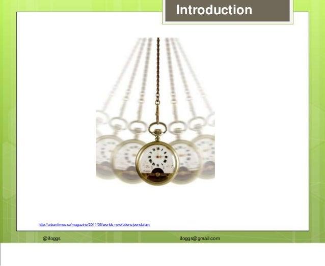 @ifoggs ifoggs@gmail.com Introduction http://urbantimes.co/magazine/2011/05/worlds-revolutions/pendulum/