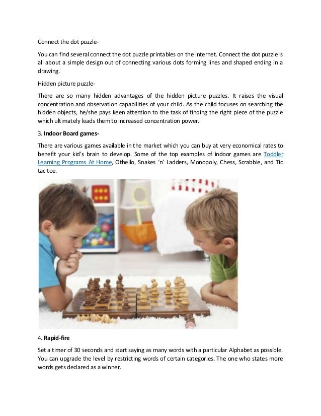 Smart Games To Play With Your Child Blog2