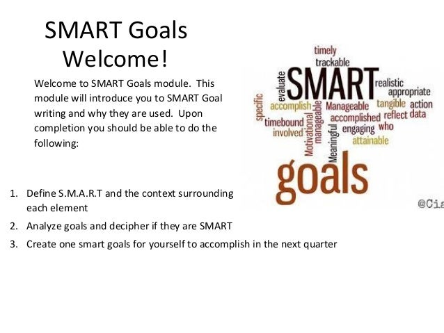 smart targets essay In comparison with smart targets, the authors argue that well-formed outcomes offer a more rigorous and holistic approach, by taking greater account of the learner's identity, affective dimensions (feelings and emotions).
