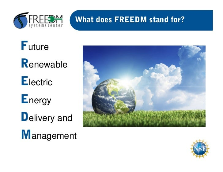 Smart Grid Freedom Overview Open Smart City 2012
