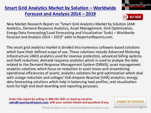 """new report global smart grid Marketresearchnestcom adds """"global smart grid data analytics market size, status and forecast 2018-2025"""" new report to its research databasethe report spread across 90 pages with multiple tables and figures in it."""