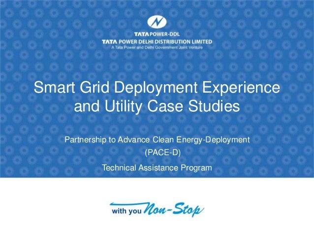 smart grid a case study December 2011 the information presented in this overview is based on a report of emerging smart grid deployments and plans prepared by saic for the us energy information administration (eia), the statistical and analytical agency within.