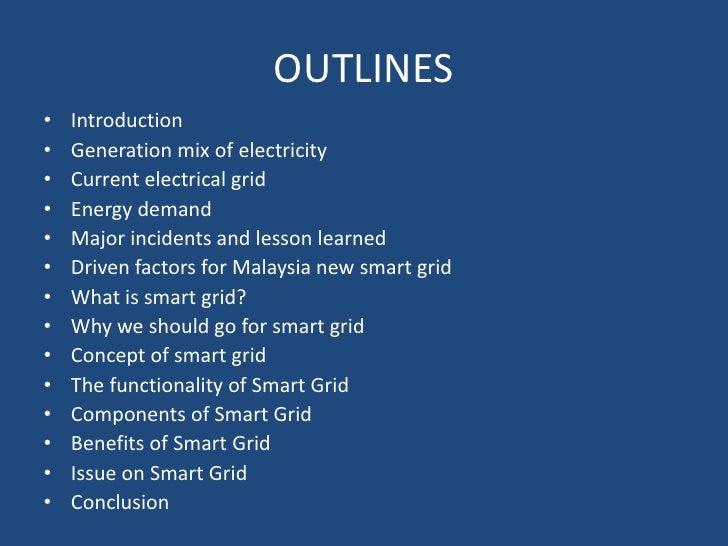 Smart grid presentation Slide 2