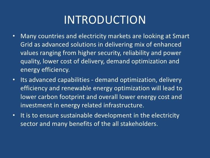 Smart grid presentation Slide 3