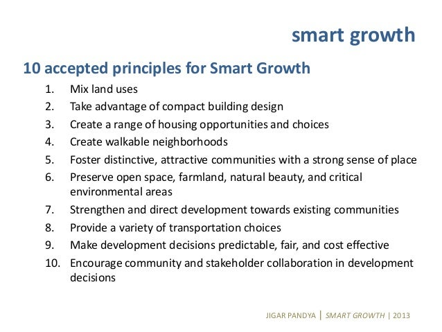 Smart growth in indian context - Smart gardening small steps for an efficient activity ...